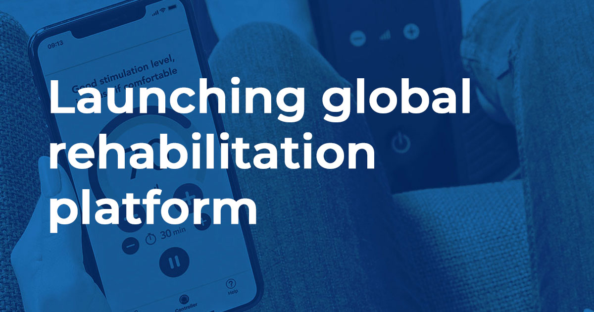 Launching global rehabilitation platform – a journey into Internet of Medical Things (IoMT)